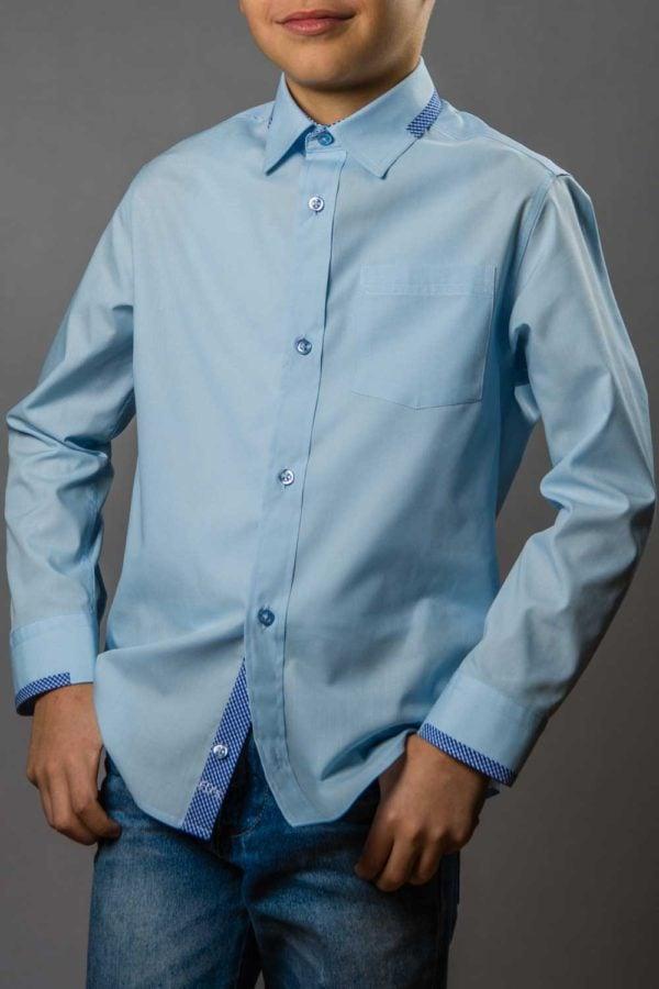 Cody Blue, camasa bleu pentru scoala